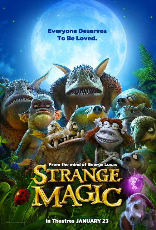 Strange Magic Film Poster
