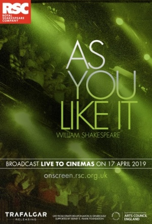 RSC Live: As You Like It Film Poster