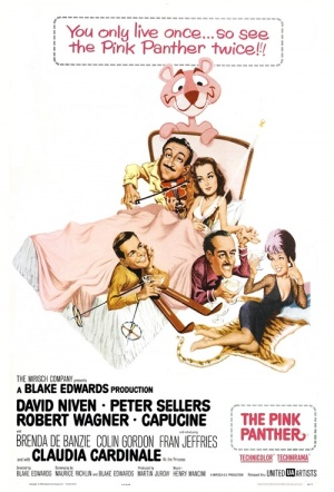 The Pink Panther (1963) Film Poster