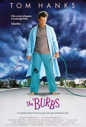 The 'Burbs Film Poster