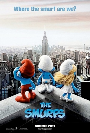 The Smurfs (2011) Film Poster