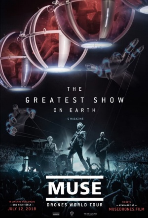 Muse: Drones World Tour Film Poster