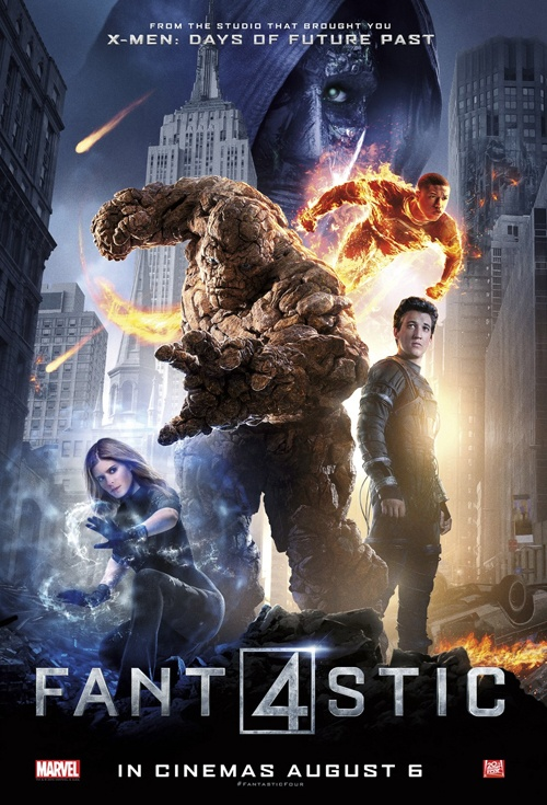 Fantastic Four 3D Film Poster