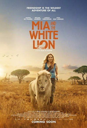 Mia and the White Lion Film Poster