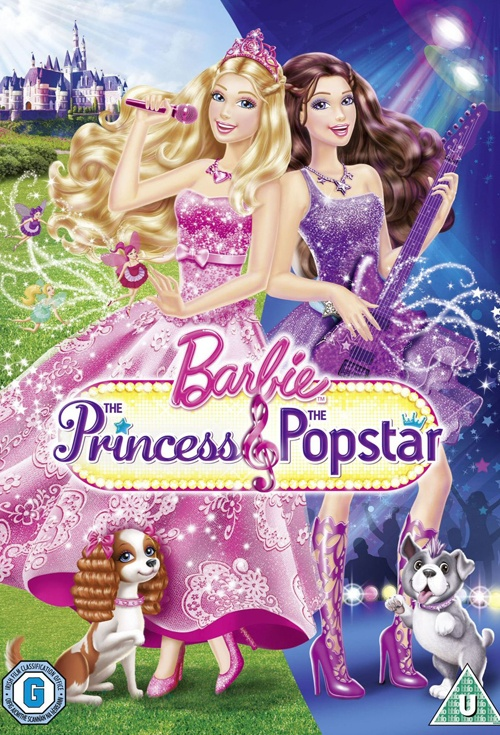 Movie poster for barbie the princess the popstar flicks movies like this one voltagebd Image collections