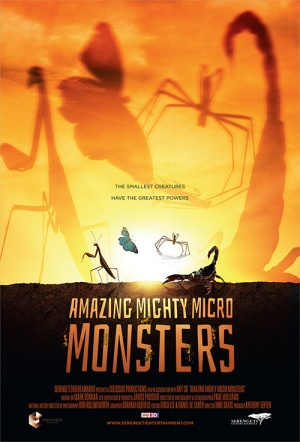 Bugs: Amazing Mighty Micro Monsters 3D Film Poster