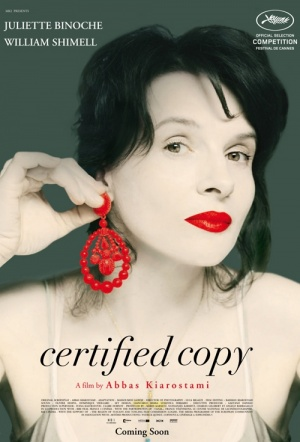 Certified Copy Film Poster