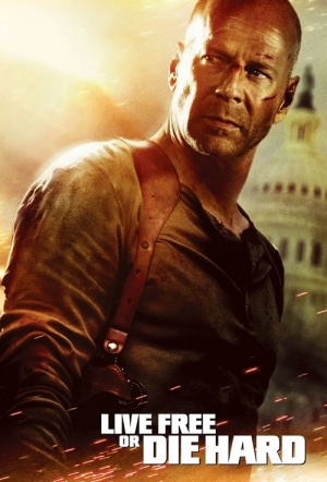 Live Free Or Die Hard Film Poster