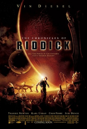 The Chronicles of Riddick Film Poster