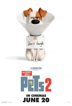 The Secret Life of Pets 2 3D Film Poster