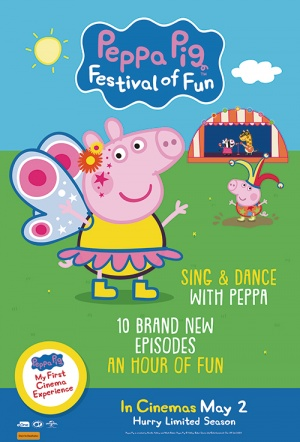 Peppa Pig: Festival Of Fun Film Poster