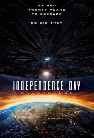 Independence Day 3D: Resurgence Film Poster