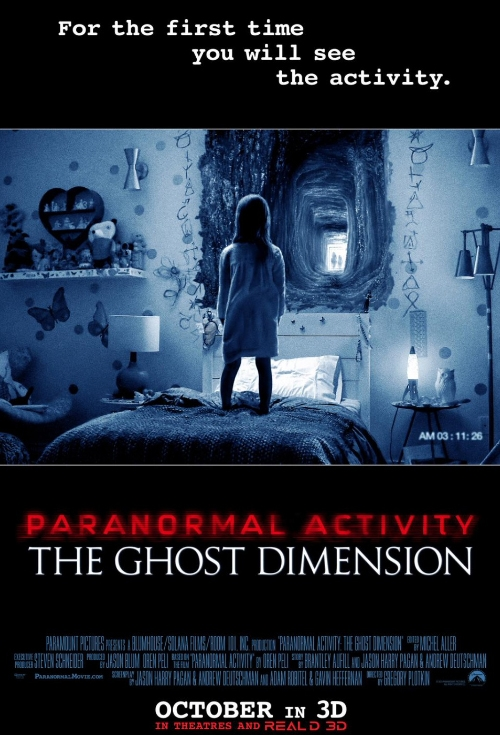 Delete Me Paranormal Activity: The Ghost Dimension 3D