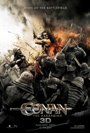 Conan the Barbarian 3D Film Poster