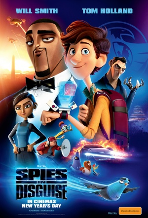 Spies in Disguise Film Poster