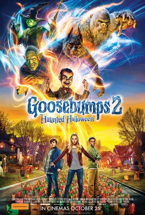 Goosebumps 2: Haunted Halloween Film Poster