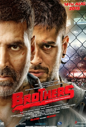 Brothers (2015) Film Poster