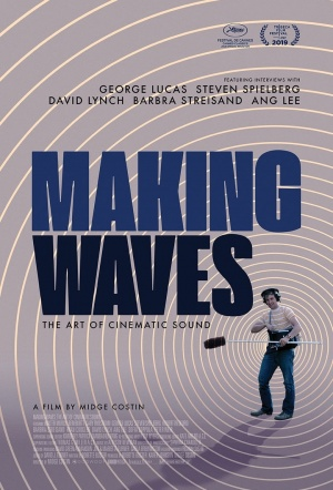 Making Waves: The Art of Cinematic Sound Film Poster