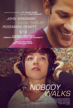 Nobody Walks Film Poster