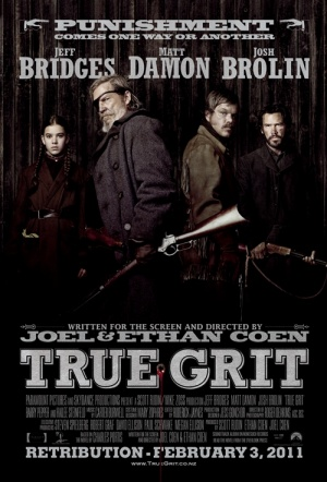 True Grit (2010) Film Poster