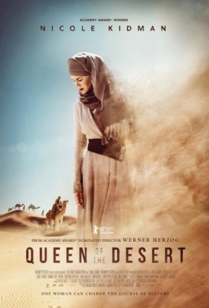 Queen Of The Desert (2015) Film Poster