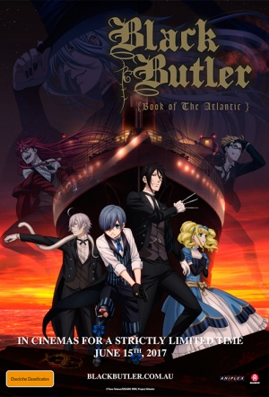 Black Butler: Book of the Atlantic Film Poster