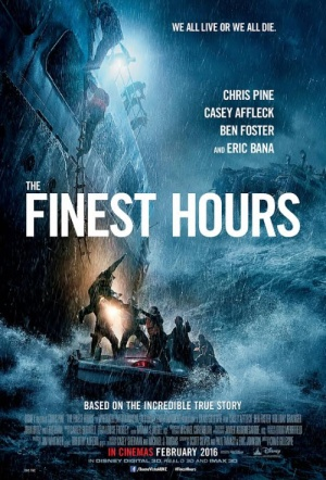 The Finest Hours 3D Film Poster