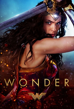 Wonder Woman 3D Film Poster