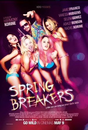 Spring Breakers Film Poster