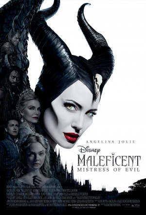 Maleficent 3D: Mistress of Evil Film Poster