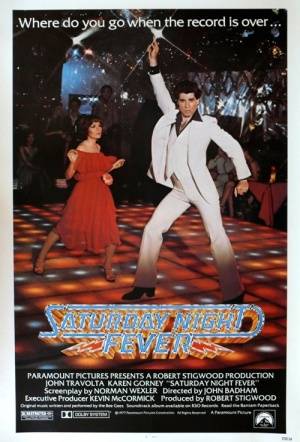Saturday Night Fever Film Poster