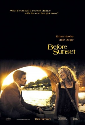 Before Sunset Film Poster
