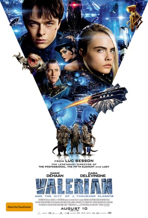 Valerian and the City of a Thousand Planets 3D Film Poster