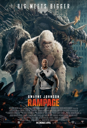 Rampage 3D Film Poster