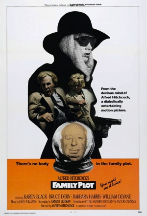 Family Plot Film Poster