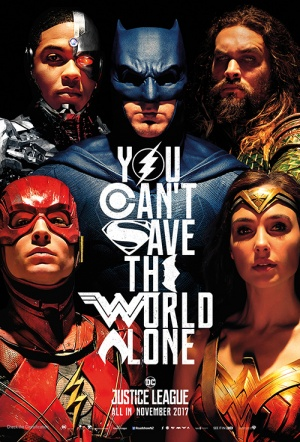 Justice League 3D Film Poster