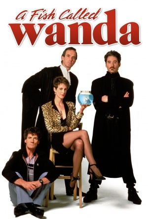 A Fish Called Wanda Film Poster