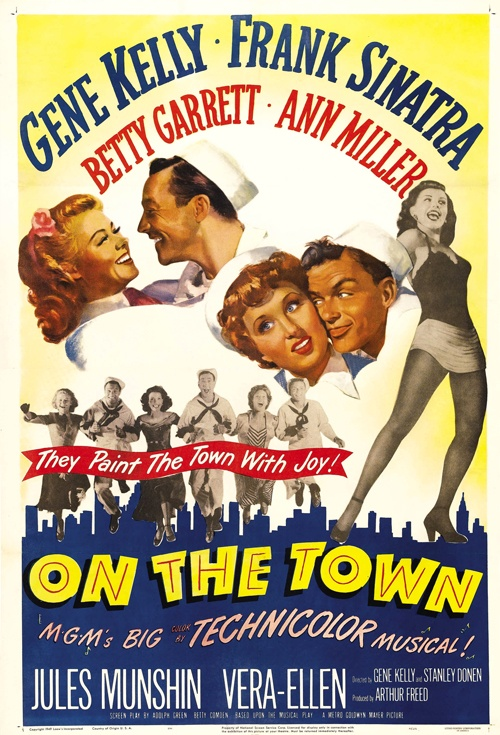 On the Town Film Poster