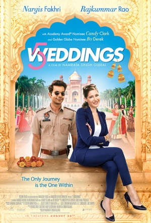 5 Weddings Film Poster
