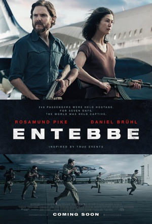 7 Days in Entebbe Film Poster