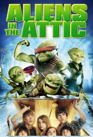 Aliens in the Attic Film Poster
