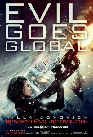 Resident Evil: Retribution 3D Film Poster
