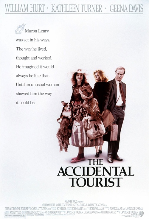 The Accidental Tourist Film Poster