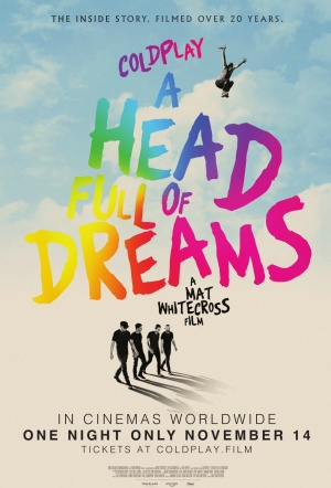 Coldplay: A Head Full of Dreams Film Poster