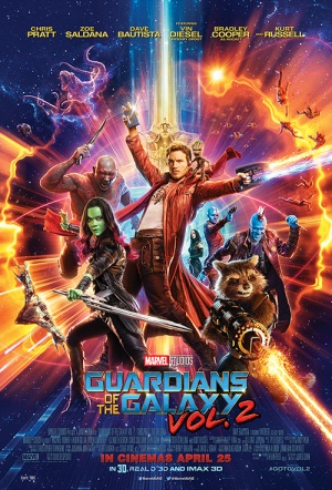 Guardians of the Galaxy Vol. 2 3D Film Poster