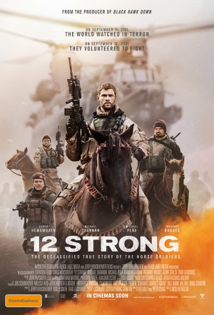 12 Strong Film Poster