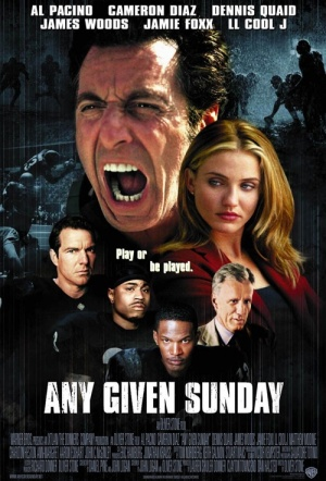 Any Given Sunday Film Poster