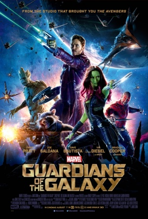Guardians of the Galaxy 3D Film Poster