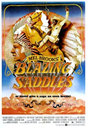 Blazing Saddles Film Poster