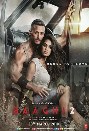 Baaghi 2 Film Poster